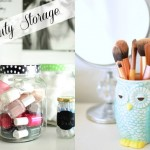 Beauty Storage Ideas { Home Decor }